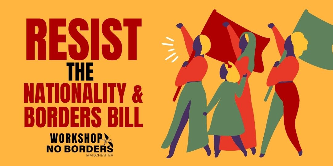 image for event: Workshop: Resist the Nationality and Borders Bill