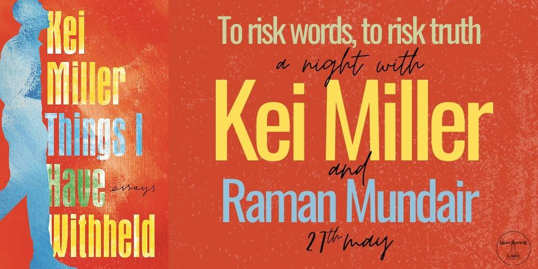 Things I have Withheld: A night with Kei Miller, with Kei Miller