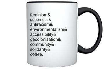 Image for Lighthouse Mug: Feminism, Queerness... coffee