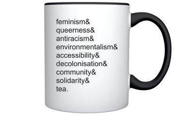 Image for Lighthouse Mug: Feminism, Queerness... tea