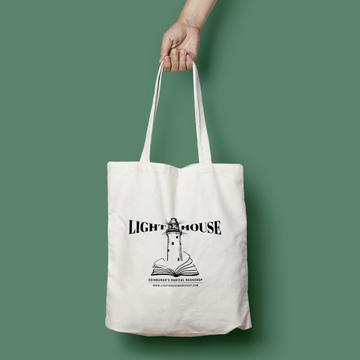 Cover for: Lighthouse Bookshop Lightweight Tote